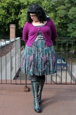 Wardrobe Diary: Oh teal how I love thee