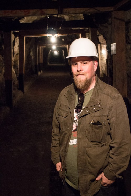 Gary in the Dos Estrella Mine